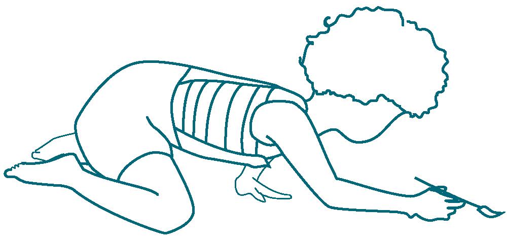 dessin d'un enfant qui dessine